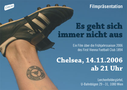 Flyer Film-Präsentation 14.11.2006